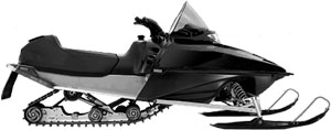 generic snowmobile